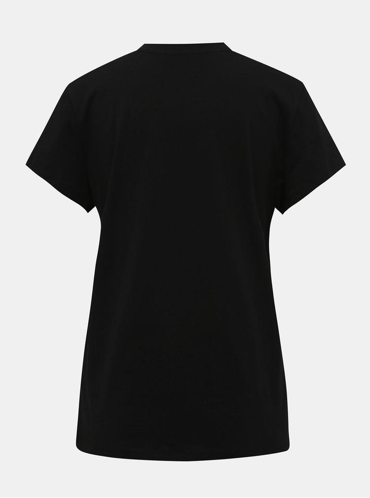 Čierne tričko ONLY Rolling Stones