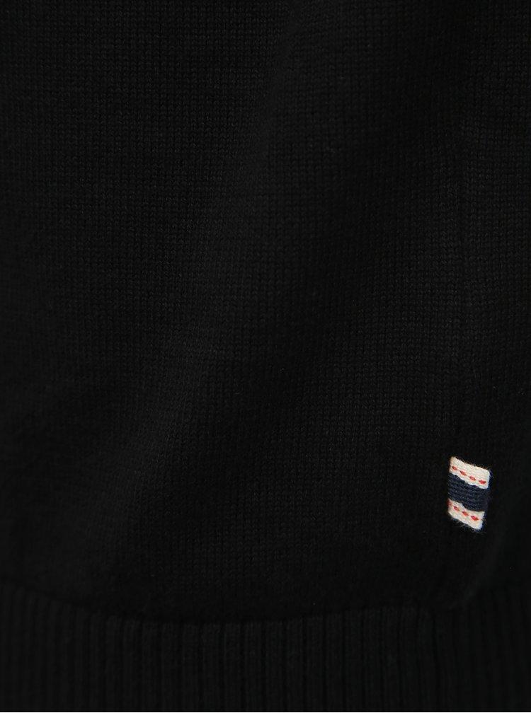 Čierny  basic sveter Jack & Jones Basic