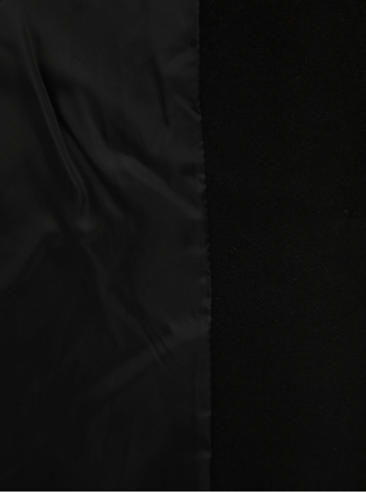 Čierny kabát VERO MODA Calamaria