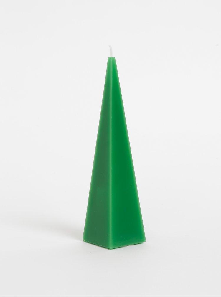 Zelená adventní svíčka SIFCON