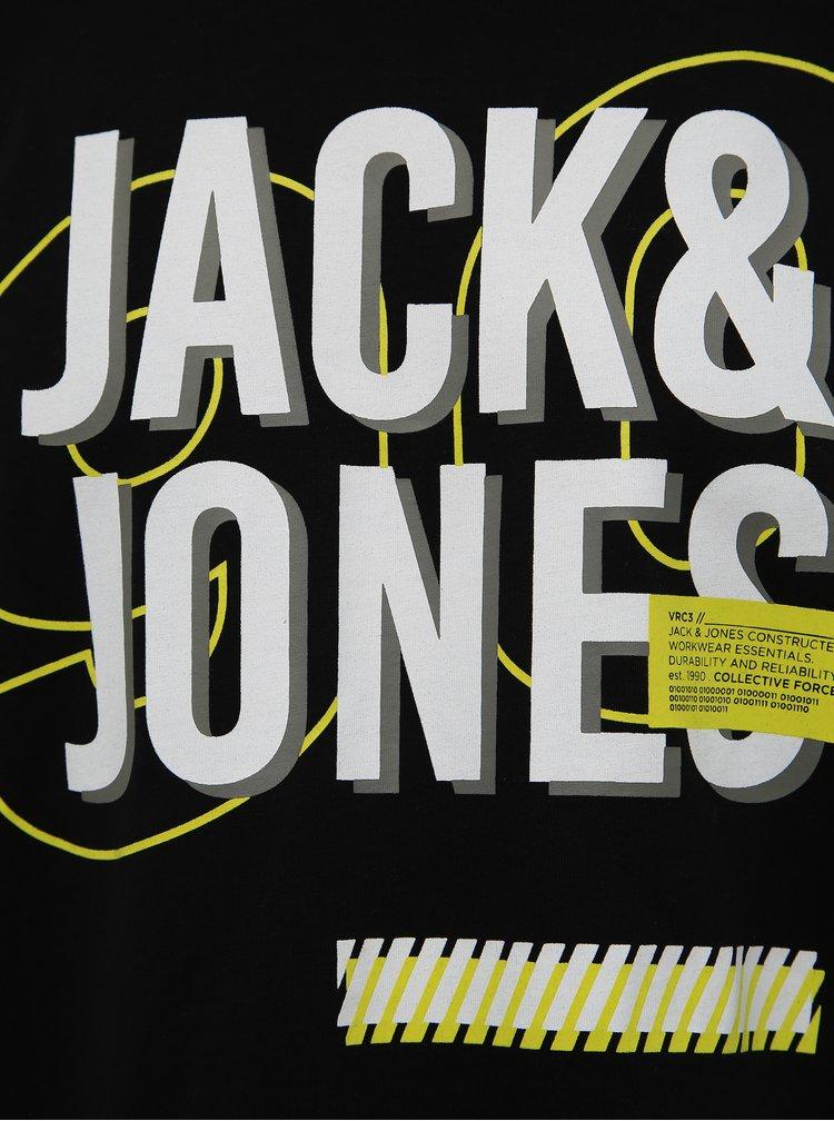 Černé tričko Jack & Jones Beb
