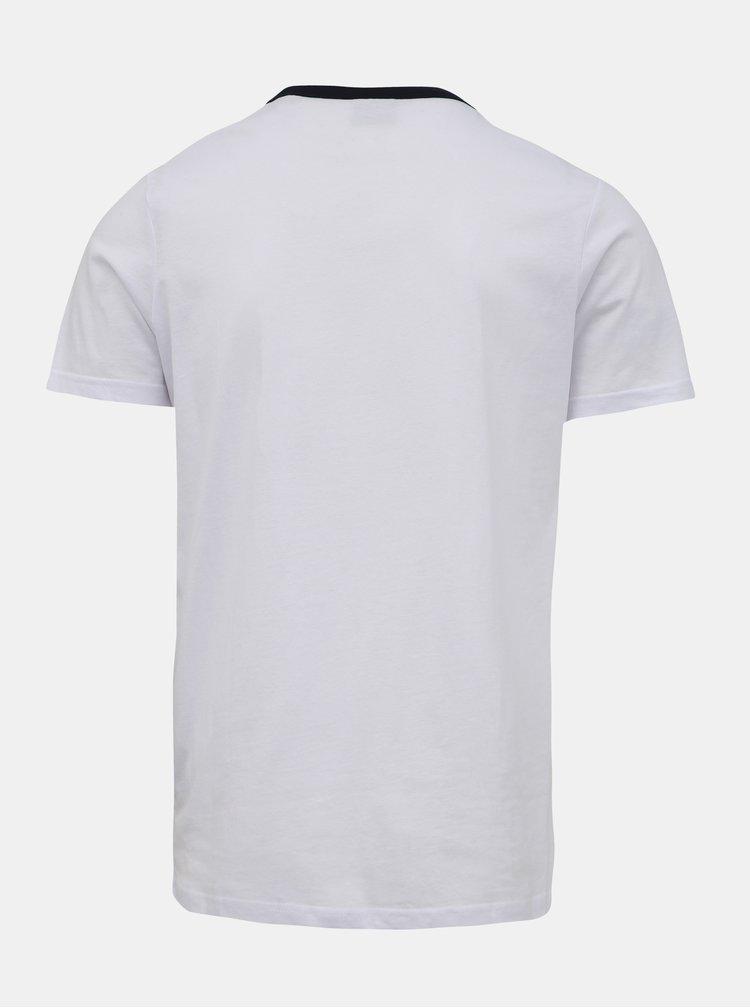 Bílé tričko Jack & Jones Island