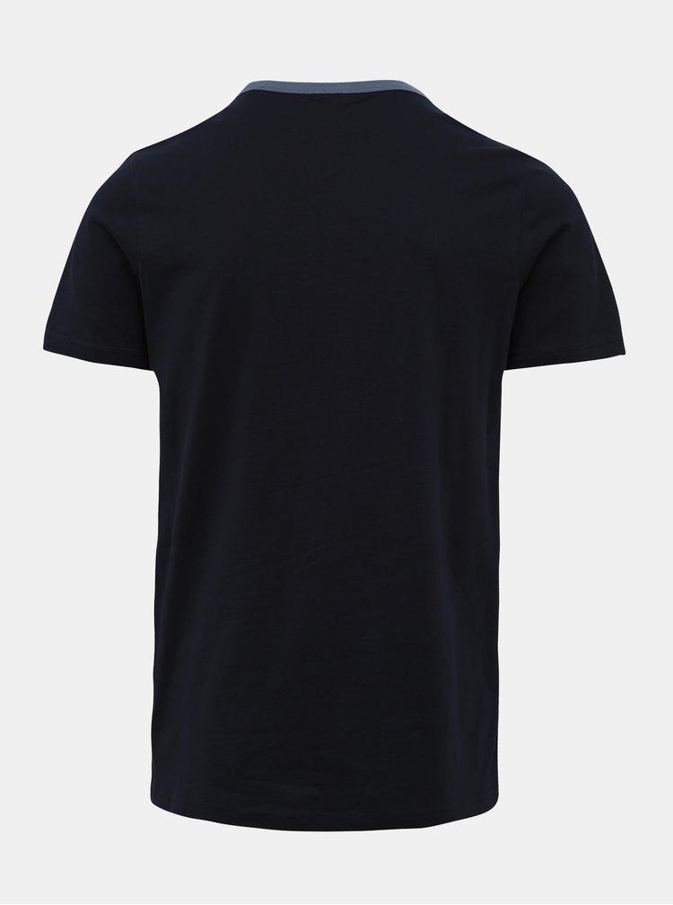 Tmavě modré tričko Jack & Jones Island