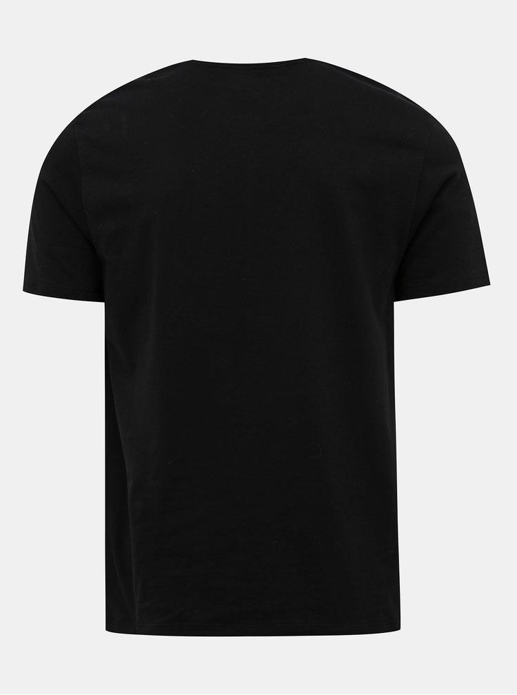 Sada dvou černých pánských basic triček Champion