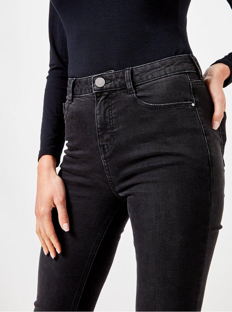 Černé bootcut džíny Dorothy Perkins Shape & Lift