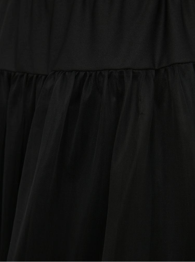 Čierna tylová spodnička Dolly & Dotty Petticoat