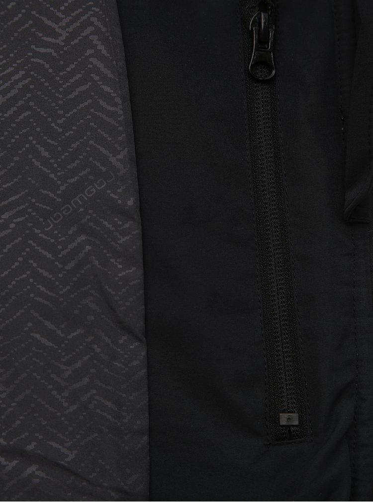 Zeleno-šedá pánská prošívaná nepromokavá funkční zimní bunda Ragwear Tricole