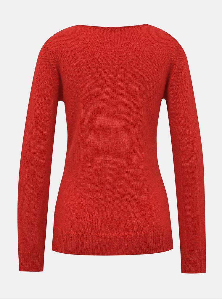Červený dámský svetr Blue Seven