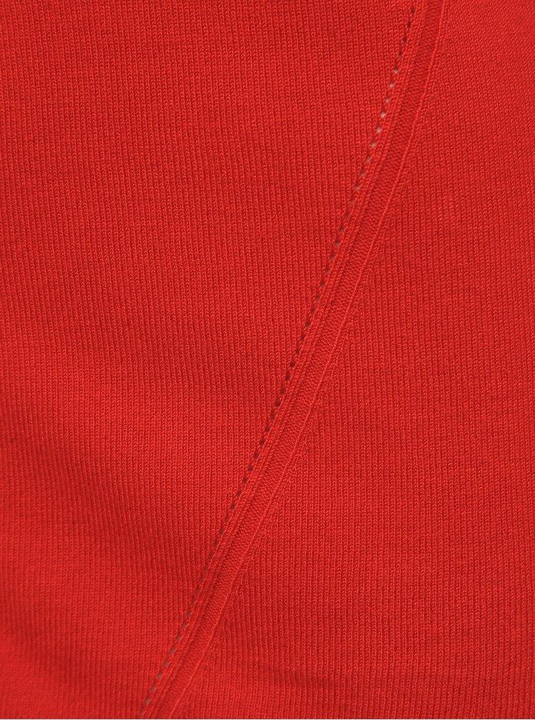 Červený dámský kardigan Blue Seven