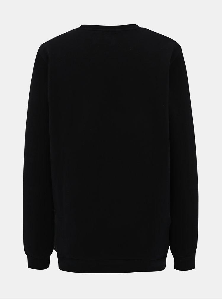 Černá dámská mikina s potiskem Calvin Klein Jeans