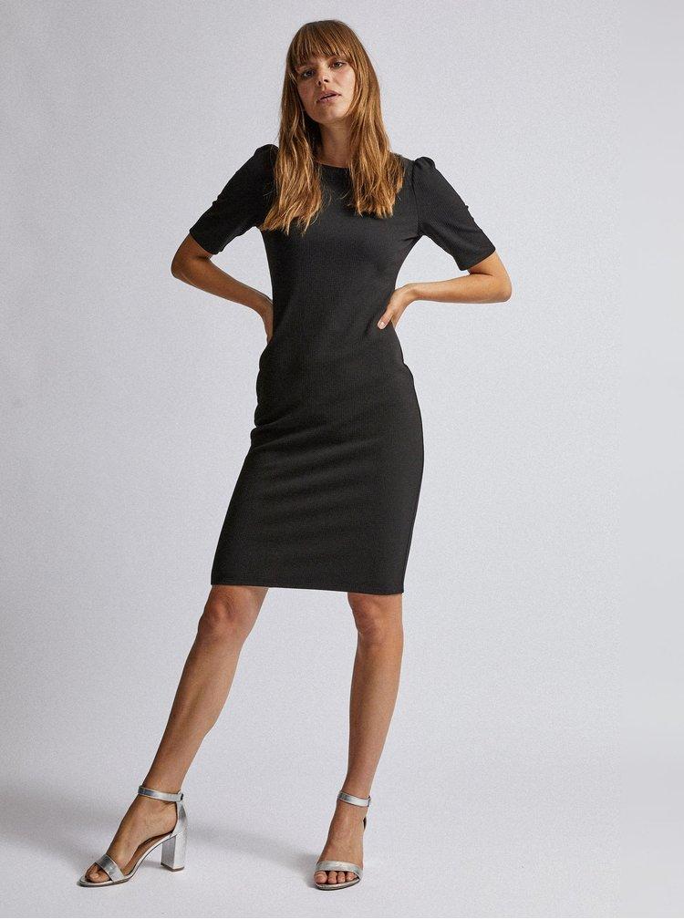 Černé pouzdrové šaty Dorothy Perkins