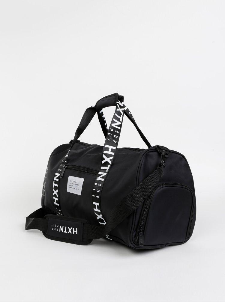 Černá sportovní taška HXTN Supply Prime Duffle