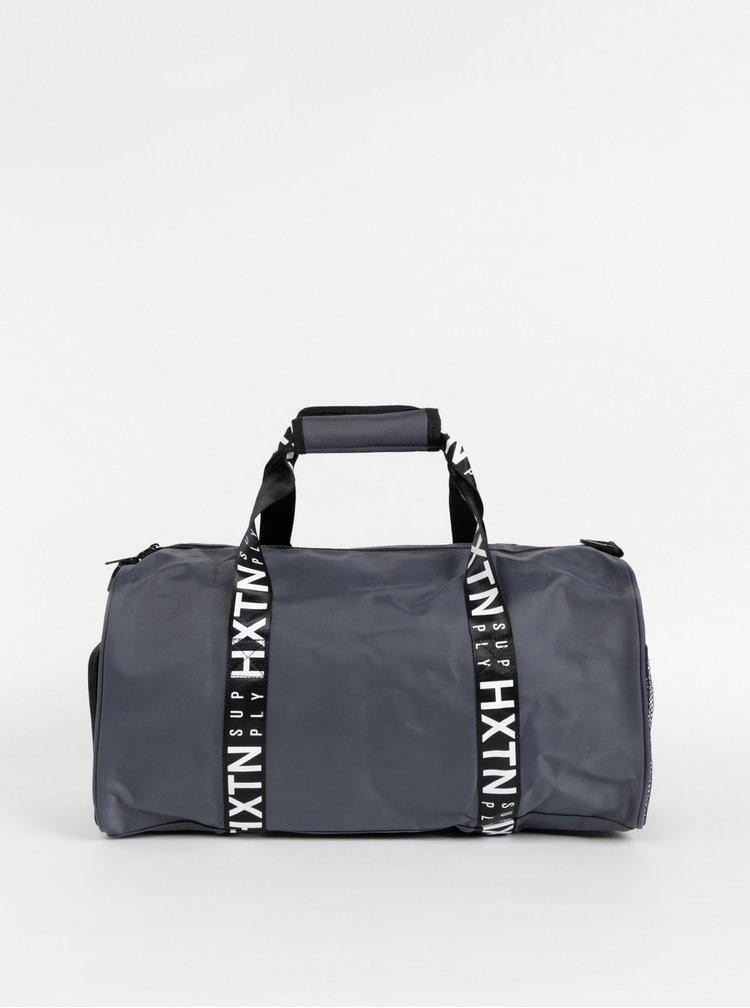 Šedá sportovní taška HXTN Supply Prime Duffle