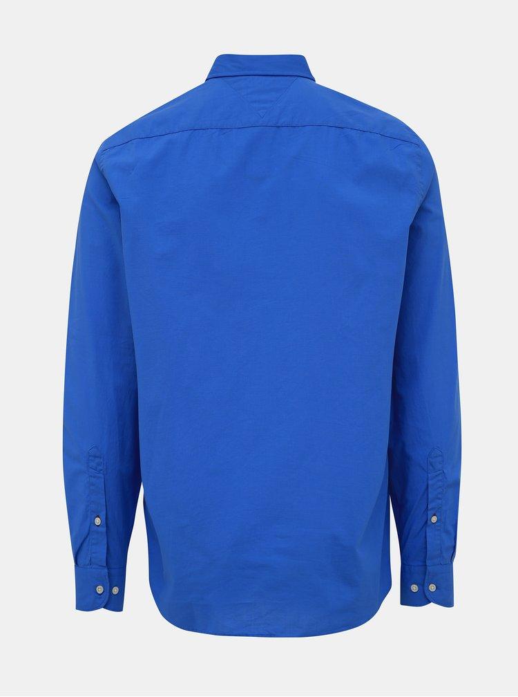 Modrá pánská regular fit košile Tommy Hilfiger Classic