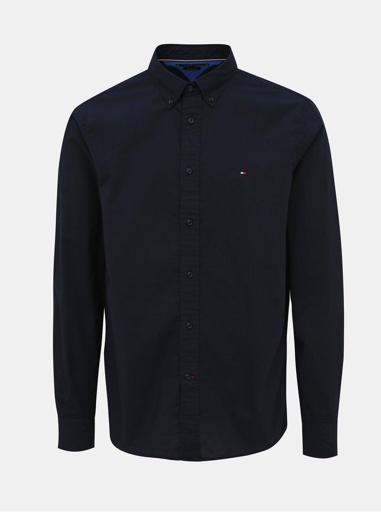 Tmavě modrá pánská regular fit košile Tommy Hilfiger Classic