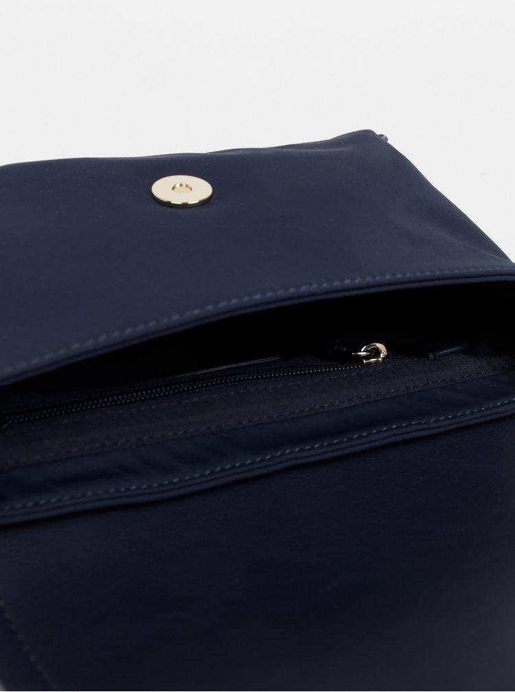 Tmavě modrá crossbody kabelka Tommy Hilfiger