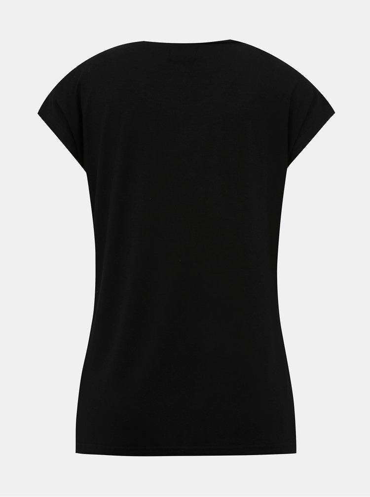 Černé dámské tričko Blue Seven