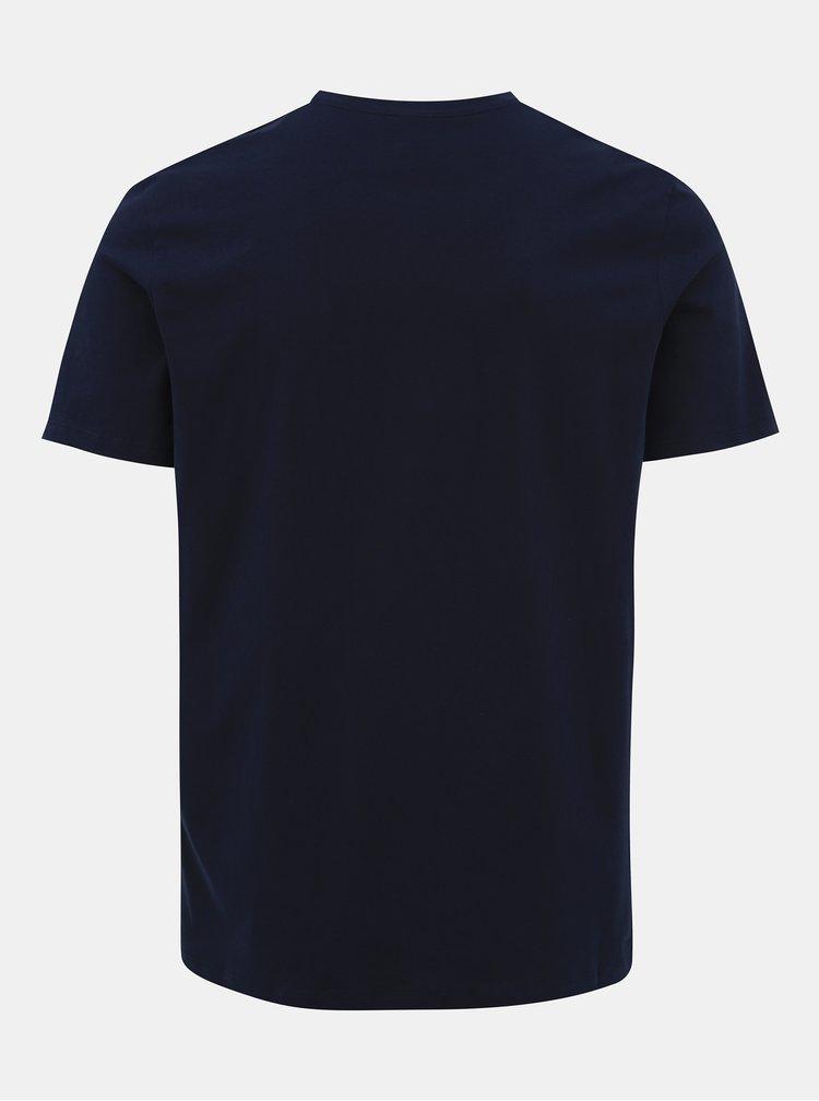 Tmavě modré tričko Jack & Jones Olle