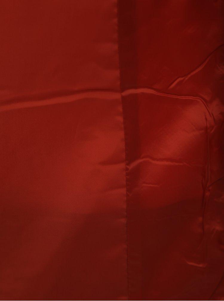 Oranžová dámska zimná bunda VERO MODA