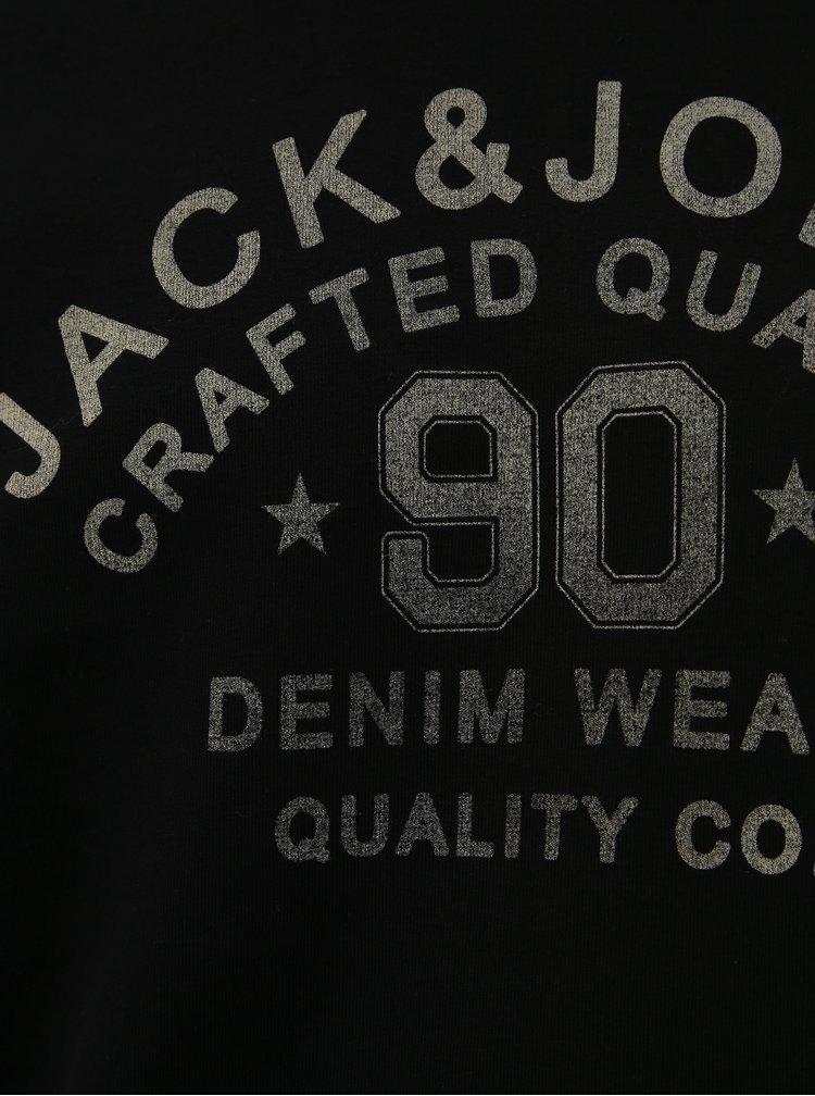 Čierna mikina Jack & Jones Jeans