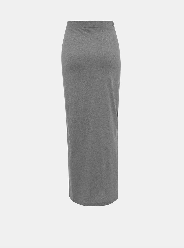 Šedá maxi sukně Vero Moda