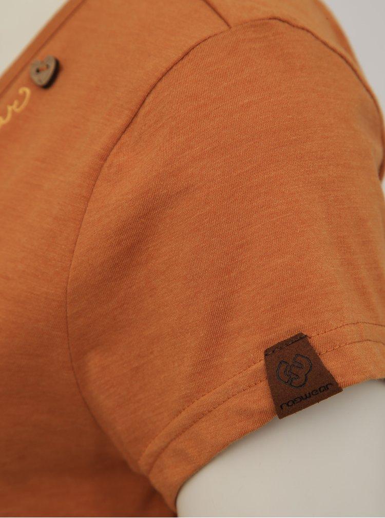 Hnědé dámské tričko Ragwear Mint