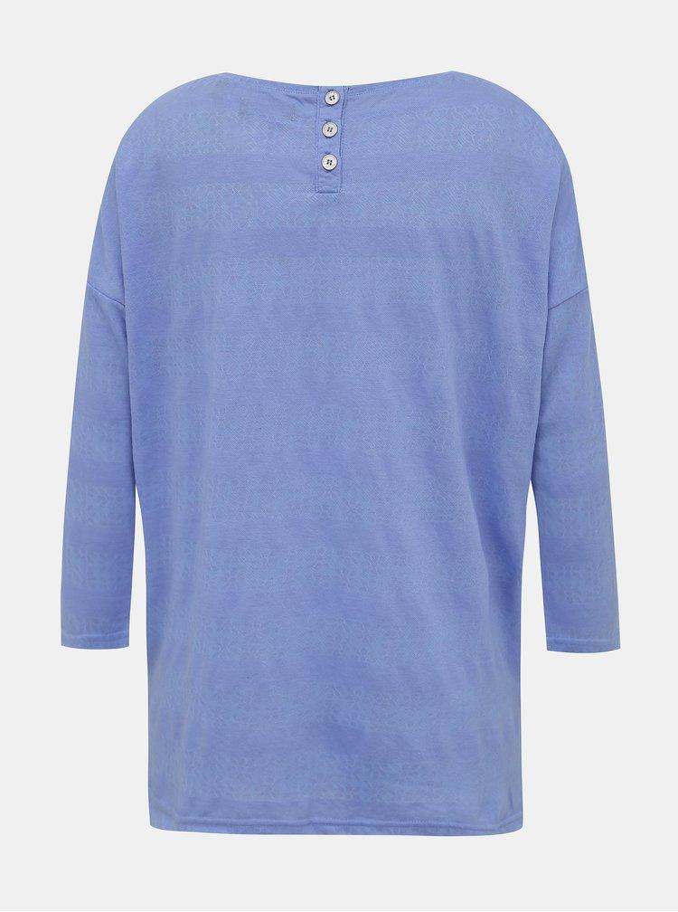 Modré dámske tričko Blue Seven