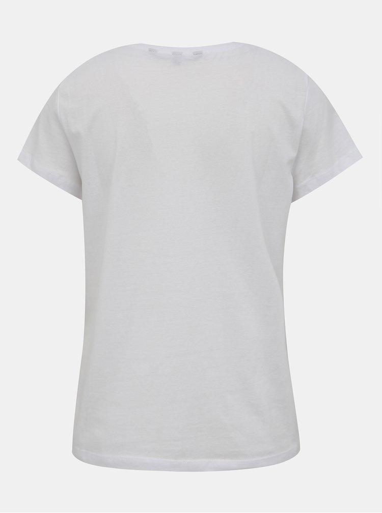 Biele tričko VERO MODA Pinta