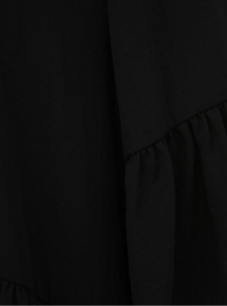 Černá halenka VERO MODA Karoline