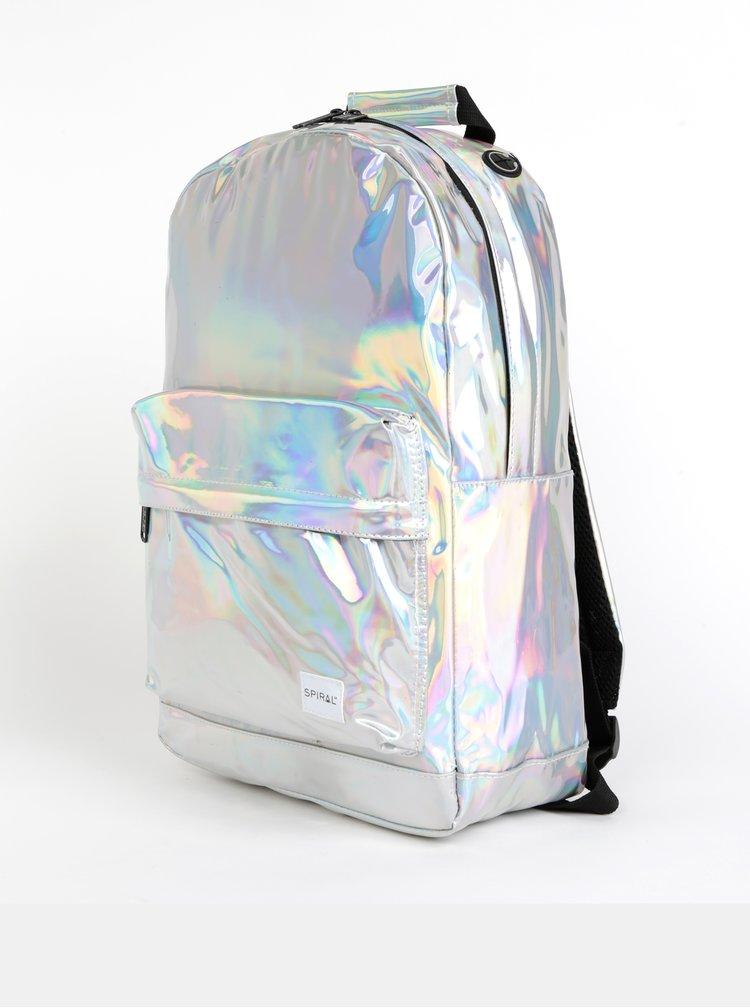 Dámsky batoh v striebornej farbe Spiral OG 18 l