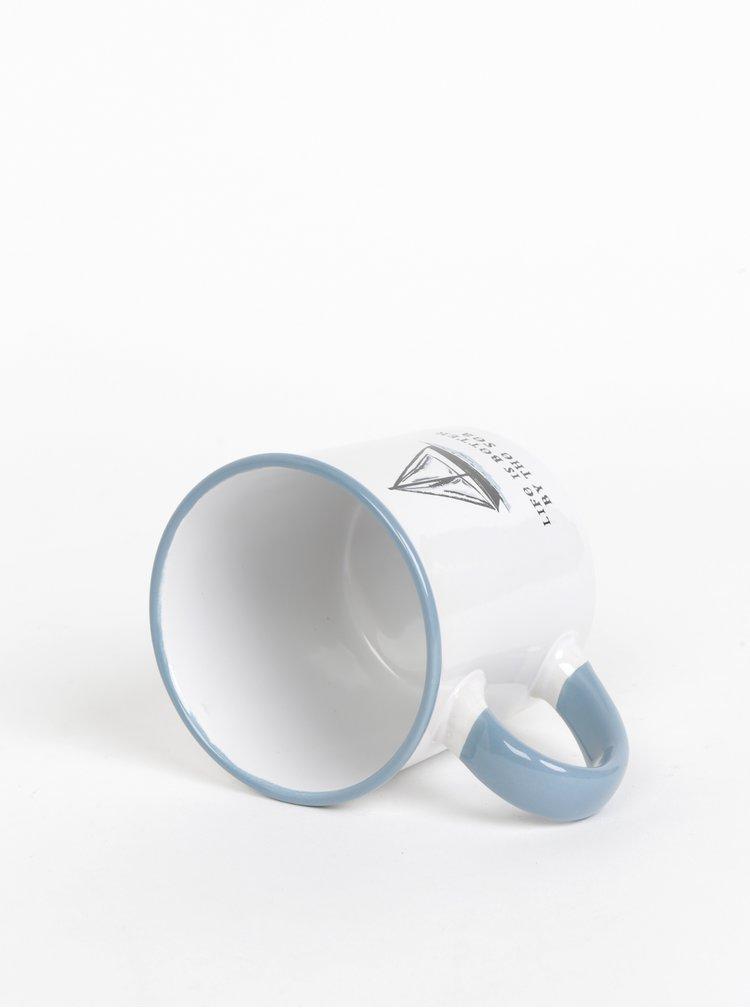 Modro-biely hrnček CGB 250 ml
