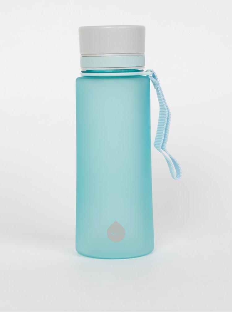 Modrá plastová fľaša EQUA 600 ml