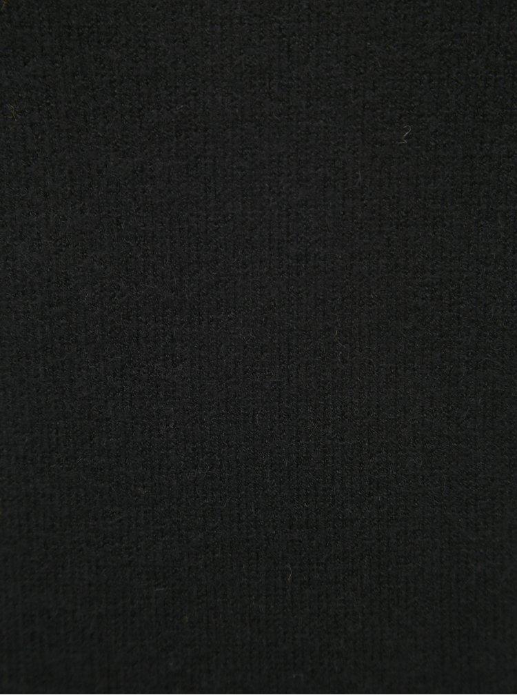 Čierny basic sveter VILA Viril