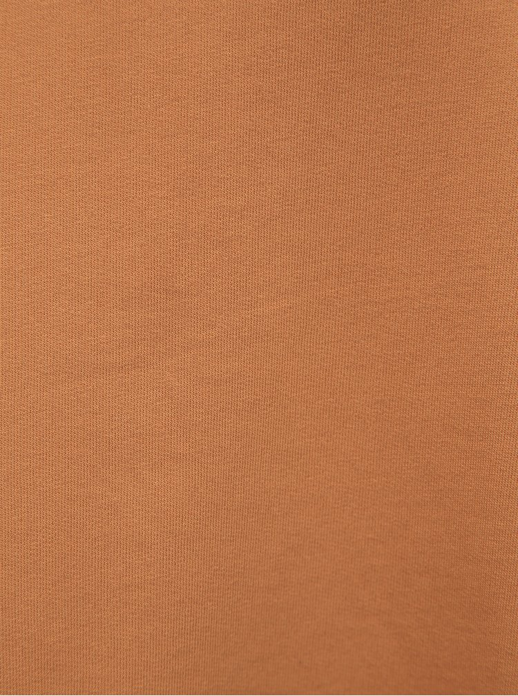Hnedé basic šaty Noisy May Luni
