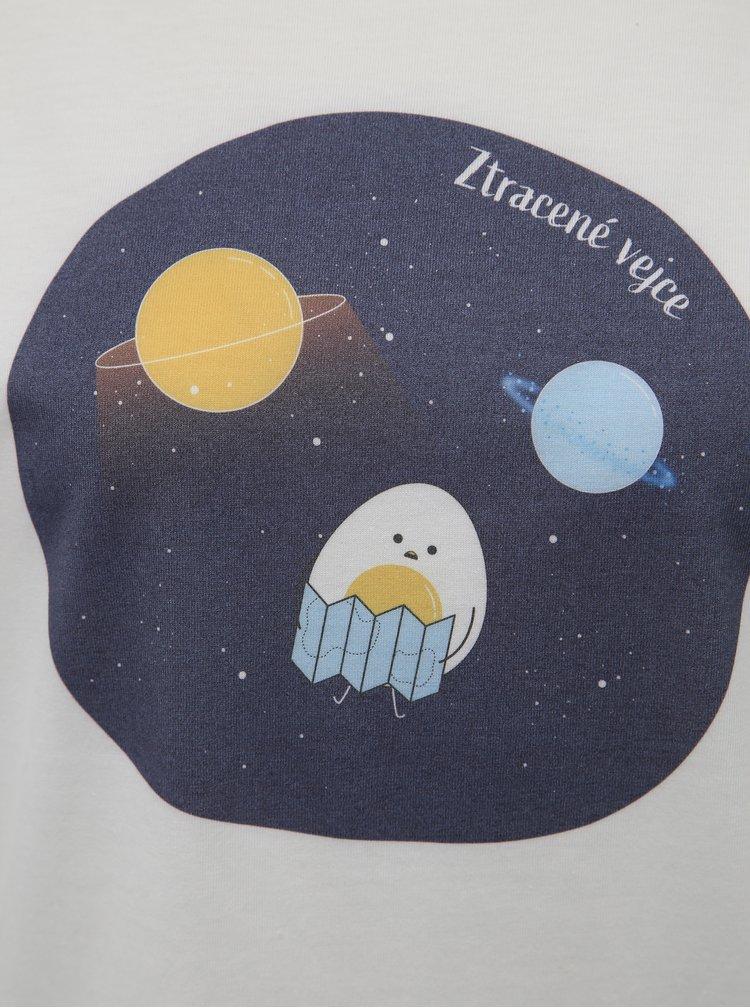 Bílé tričko ZOOT Original Ztracené vejce