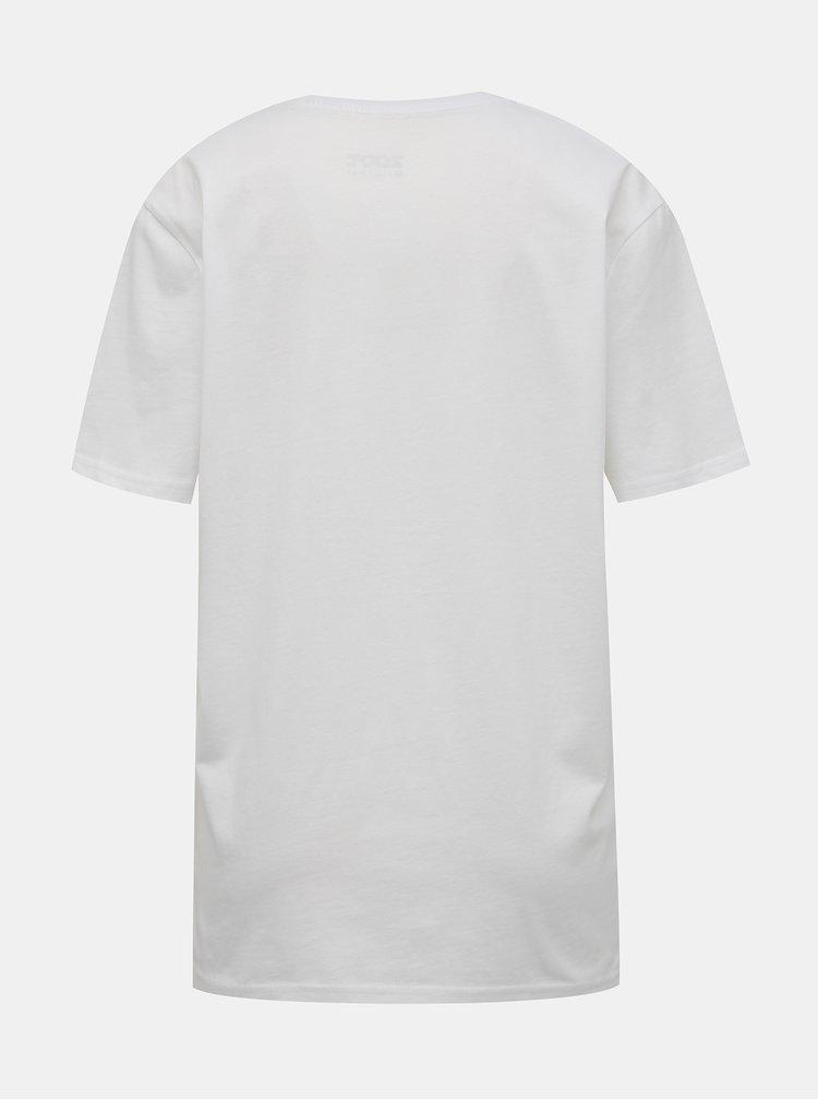Bílé tričko s potiskem ZOOT Original Vejce Benedikt