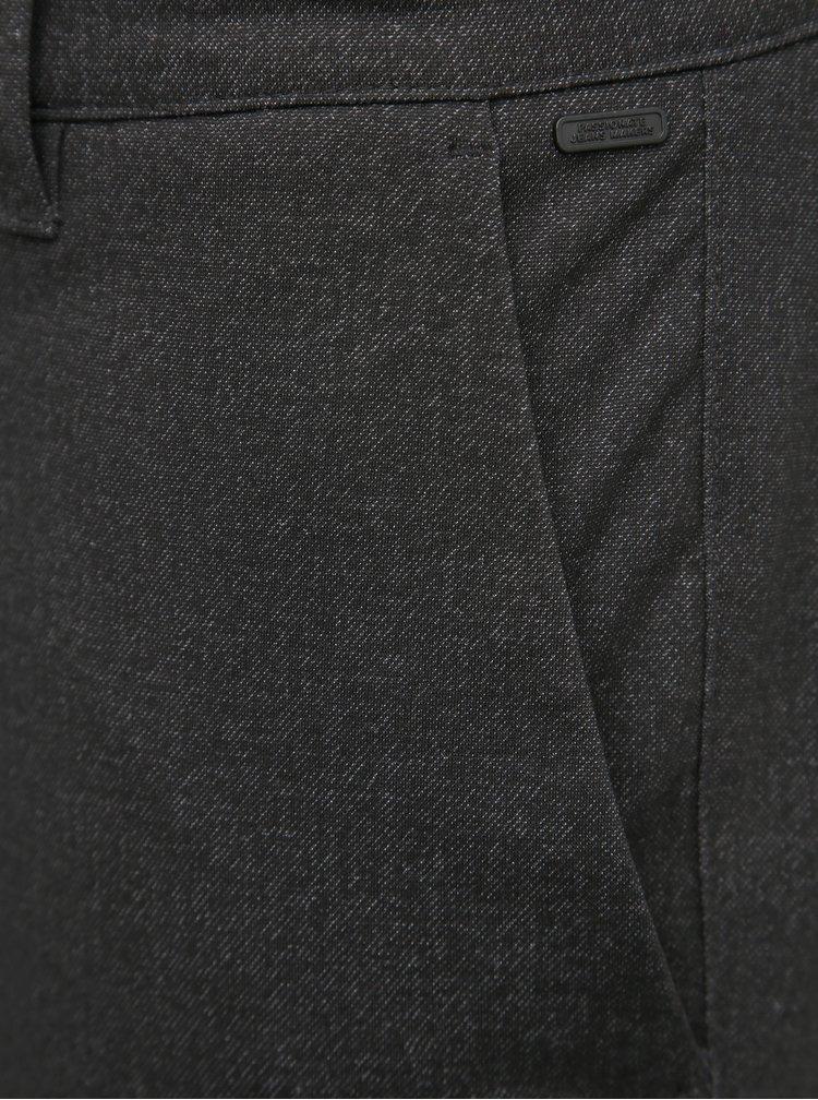 Tmavošedé chino nohavice ONLY & SONS Mark