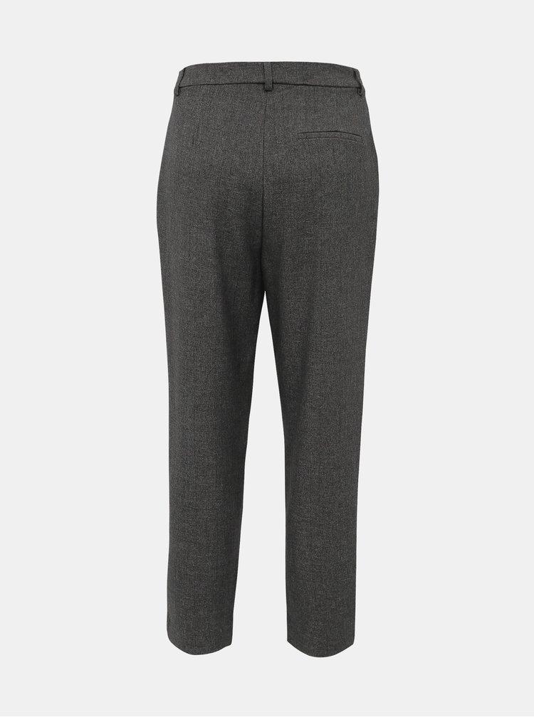 Tmavě šedé kalhoty ONLY Leden-Iria
