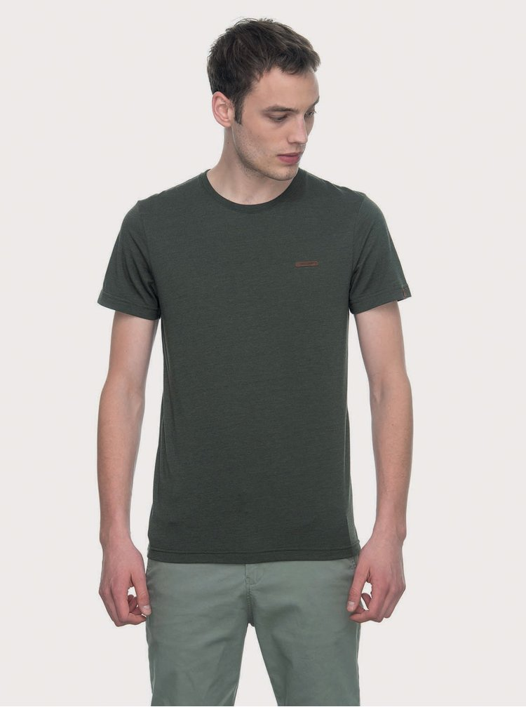 Tmavě zelené pánské tričko Ragwear Nedie