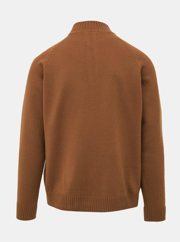 Hnědý svetr Burton Menswear London