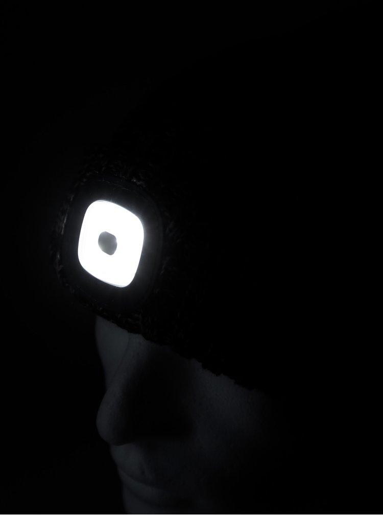 Tmavomodrá čapica so svetlom Portland