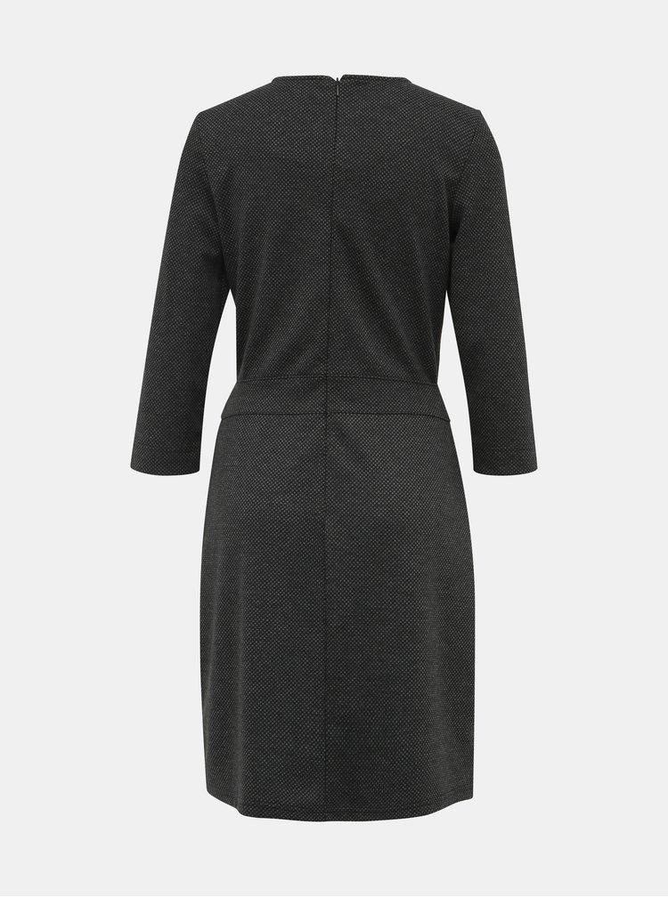Tmavě šedé šaty Blue Seven