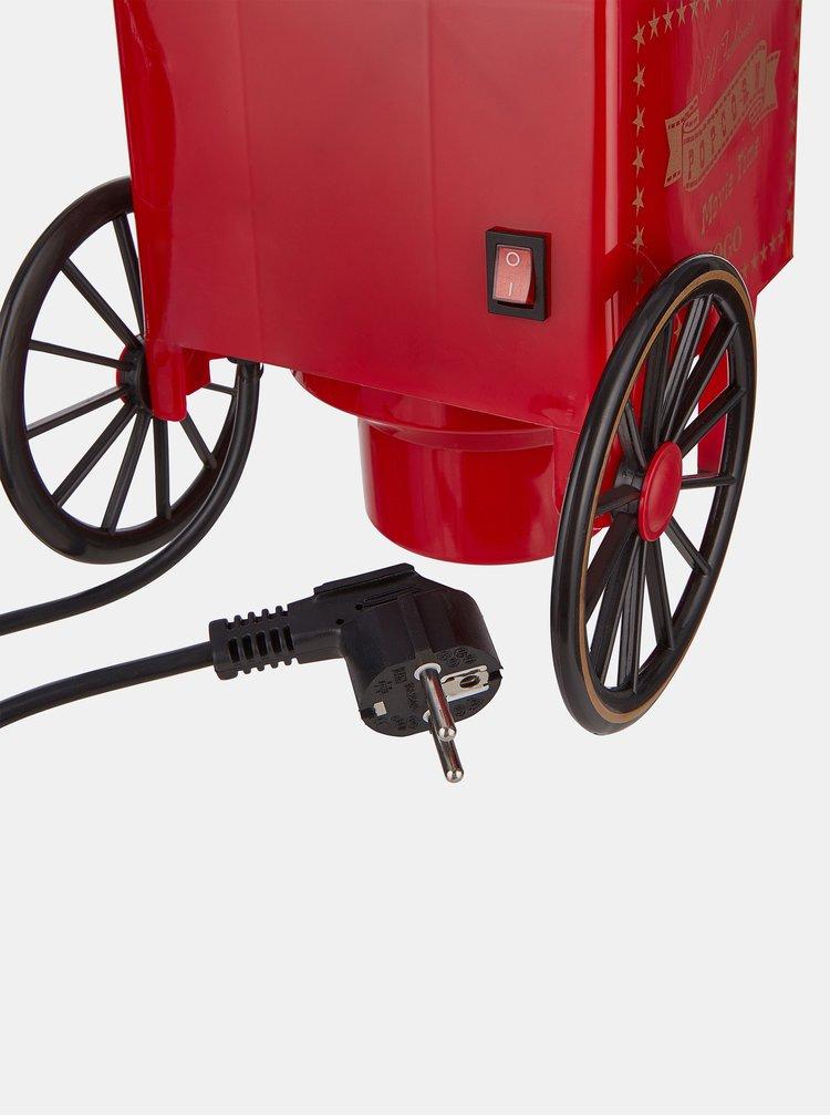 Červený přístroj na výrobu popkornu BUTLERS