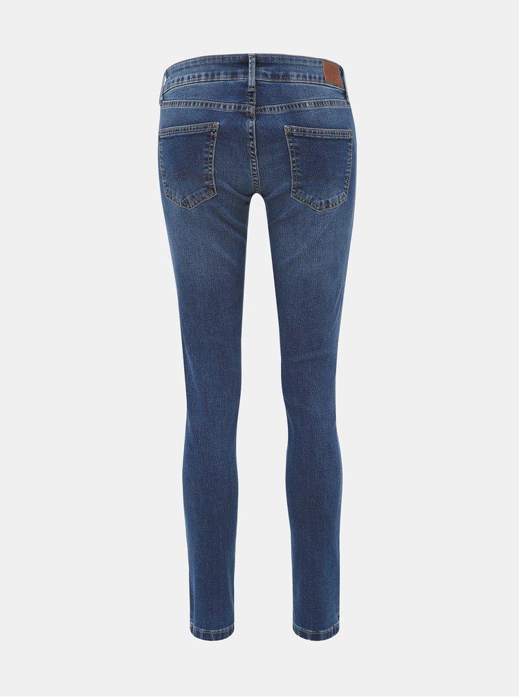 Modré dámske skinny fit rifle Pepe Jeans Pixie
