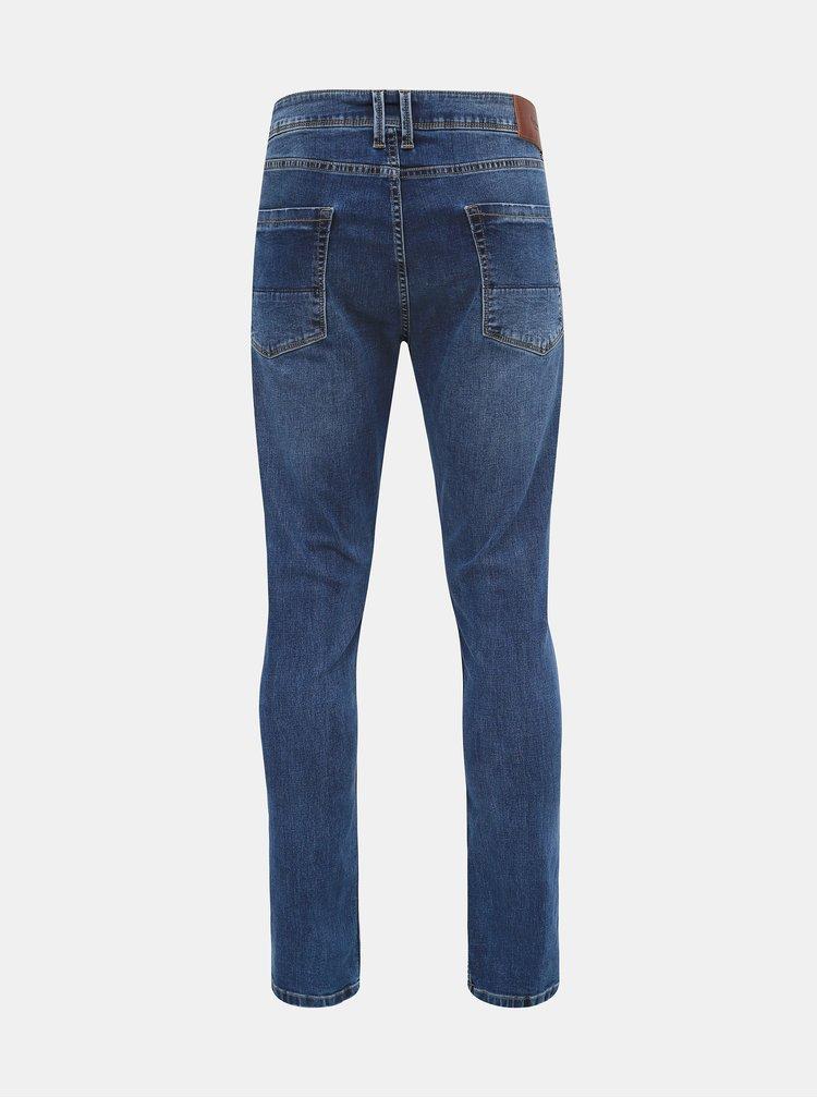 Modré pánské prodloužené skinny fit džíny Pepe Jeans Finsbury