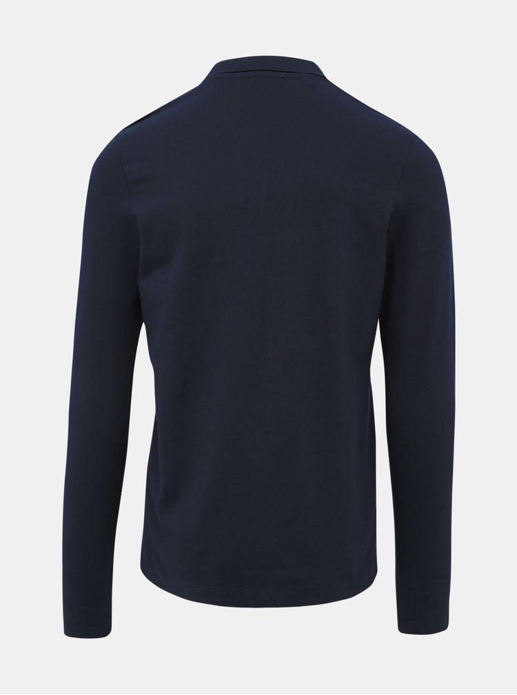 Tmavě modré basic polo tričko Selected Homme Milano
