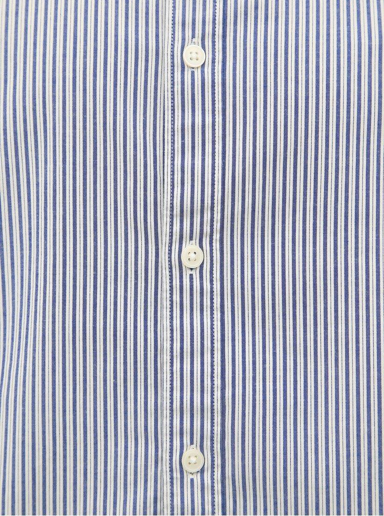 Světle modrá pruhovaná slim fit košile Selected Homme Harper