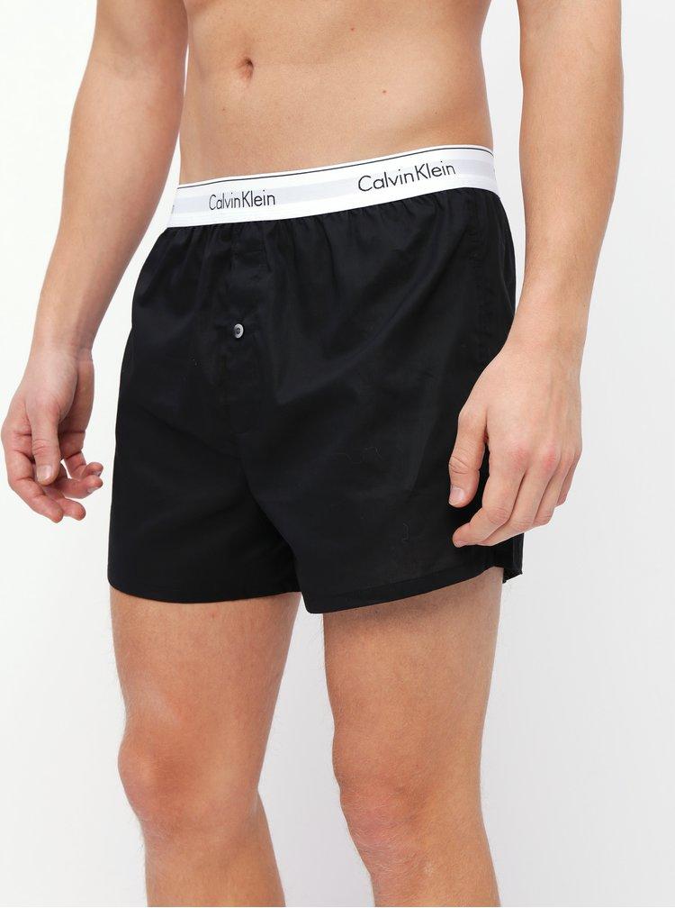 Sada dvoch čiernych trenýrok Calvin Klein Underwear