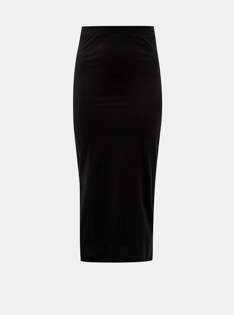 Černá maxi sukně VERO MODA Anna