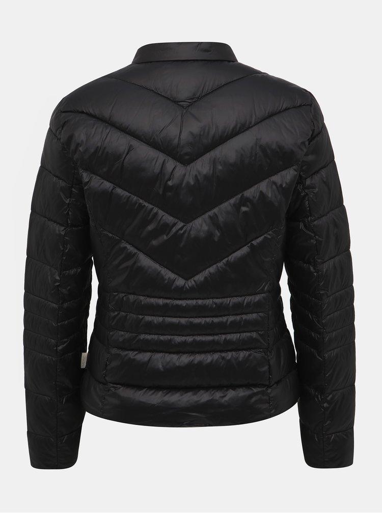 Černá prošívaná bunda VERO MODA Sorayasiv
